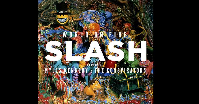 Slash saca nuevo disco