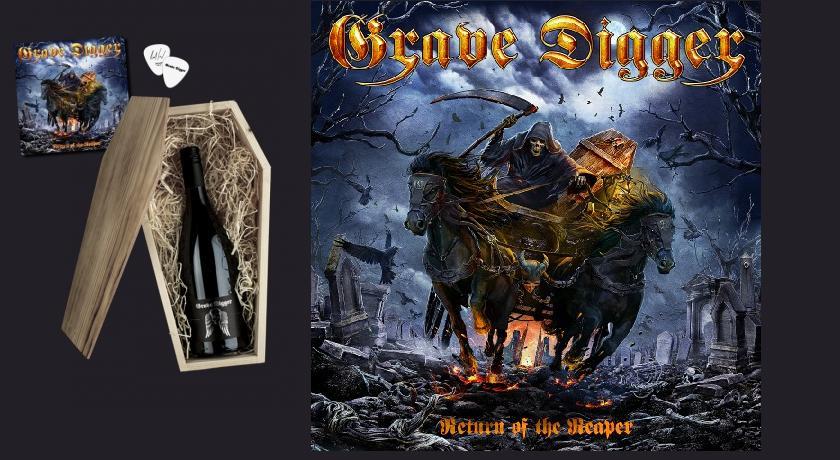 Nuevo disco de Grave Digger