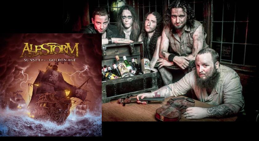 Nuevo disco de Alestorm