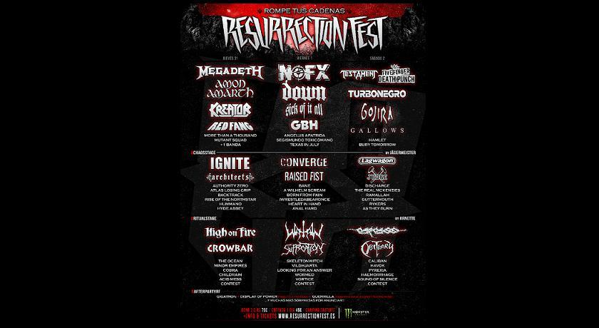 Resurrection Fest (VI y último)
