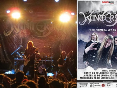 Concierto Wintersun + Wind Rose Madrid 2013