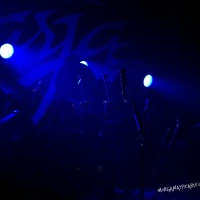 Detalle del escenario del Concierto de Tarja en la Sala Arena