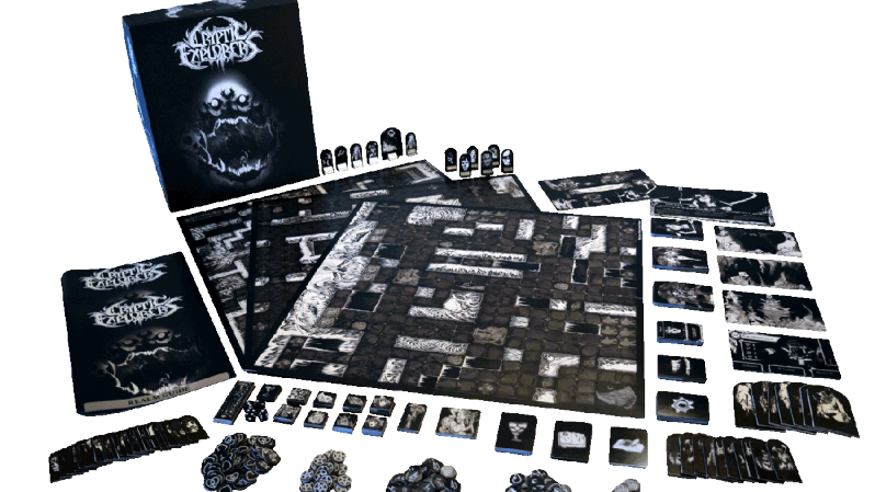Criptyc+Explorers Board  Black Metal Games